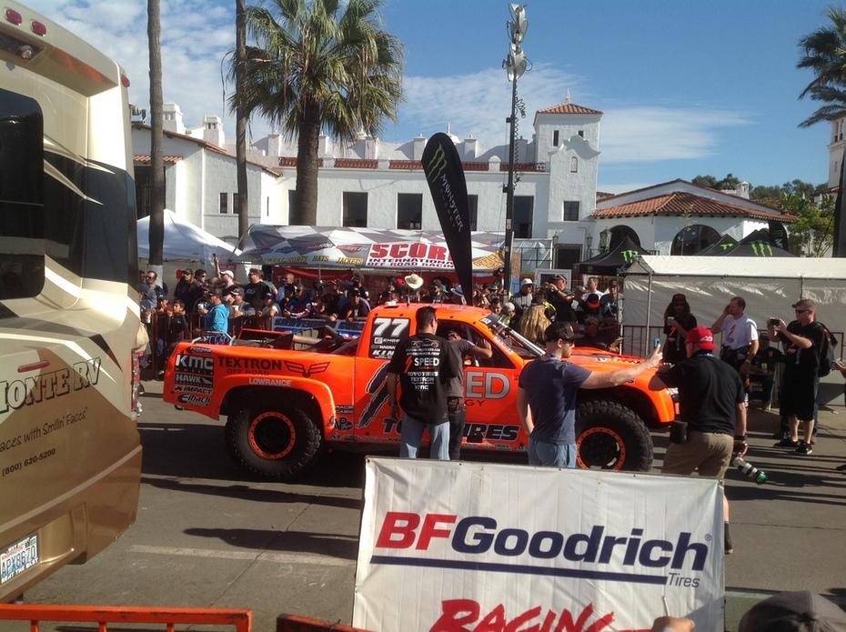 Waiting For Start 50th Baja 1000
