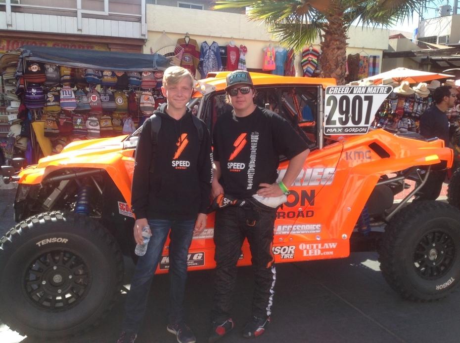 Sheldon & Skyler - 2017 Baja 1000