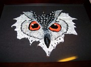 LG MAPLE LEAF 8X10 FRAME  OWL SIGHT