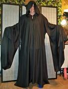 Black 5X XTall Ritual Robe