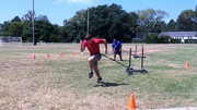 College Baseball Prospect 60 Yard Training