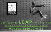 MORLAND STRENGTH READY TO LEAP