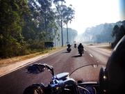 On the way to Orbost