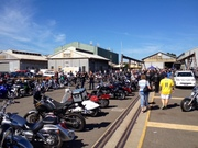 'Melbourne Victory Indian' Run to 'Bikes by the bay' show in Williamstown 22/3/15