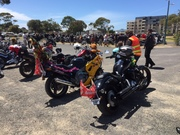 Bairnsdale Toy Run- Salvation Army  Christmas appeal- Sunday 13/12/15 Lakes Entrance