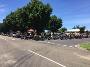 Bairnsdale Toy Run- Salvation Army  Christmas appeal- Sunday 13/12/15 Bruthen
