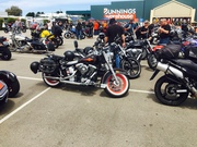 Bairnsdale Toy Run- Salvation Army  Christmas appeal- Sunday 13/12/15 back at Bairnsdale Sausage sizzle music entertainment Great day 350+ Bikes