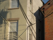 handsome overhang with wires