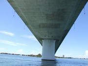 The Ringling Bridge: connecting downtown with Bird Key, Lido Key, St. Armands and Longboat Key.