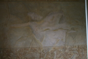 ANGEL ON BATHROOM WALL