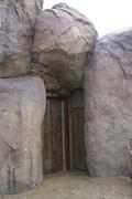 Door in Rocks