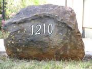 Hollow Landscape Address Rock