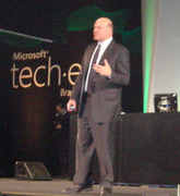 Steve Ballmer no TechED 2008 Brasil