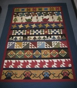 Row Robin Quilt