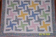 Double Dutch baby quilt (2)