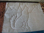 Bear quilt-coyote