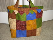 Quilted Christmas bag Judy 2008