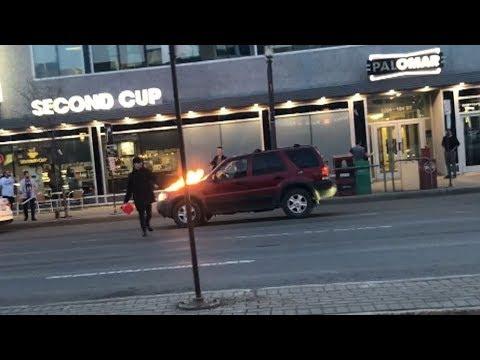 Terrifying arson spree, dramatic takedown in Edmonton captured on video