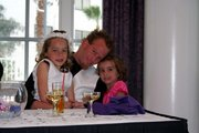 My youngest..Shane and granddaughters Madison and Hannah