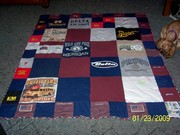Quilt for hubby