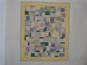 NICU Donation Quilt - Tossed 9-patch