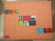 back of Dad's Hawiian Quilt