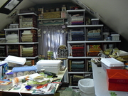 Sewing room Before 002