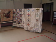 Quilt 9 Ellie Cooper , Baskets designed by Ellie Cooper and quilted by Sun. night quilters