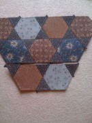 First quilting project, EPP