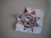 Miniature quilts and paper piecing