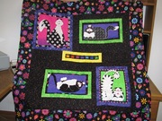 Adel library childs quilt