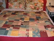 disappearing9 patch using charm squares