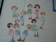 All the quilt dolls