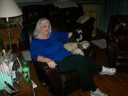 Dale and Linda and the Puppies
