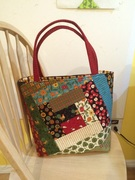 Quilt as you go Tote