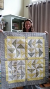 Henry Moon's baby quilt - 2016
