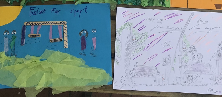 winners of posters for 'love our local park'