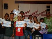 Jovens de Rubim participando da Oficina de Rádio