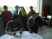 Recepção e credenciamento Adolescentes