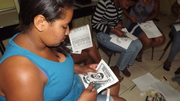 Confecção de Panfletos no Telecentro