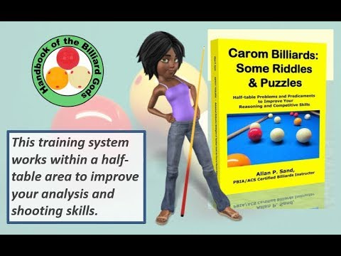 Book video for Carom Billiards: Some Riddles & Puzzles