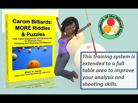 Book video for Carom Billiards: More Riddles & Puzzles