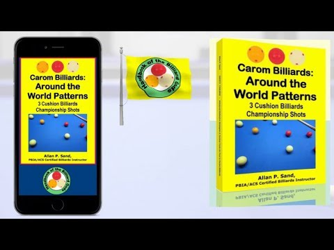 Book video for Carom Billiards: Around the World Patterns