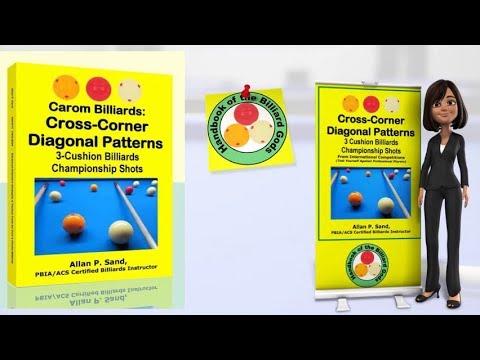 Book video for Carom Billiards: Cross-Corner Diagonal Patterns