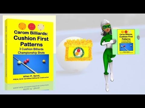 Book video for Carom Billiards: Cushion First Patterns