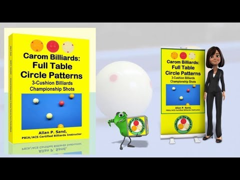 Book video for Carom Billiards: Full Table Circle Patterns