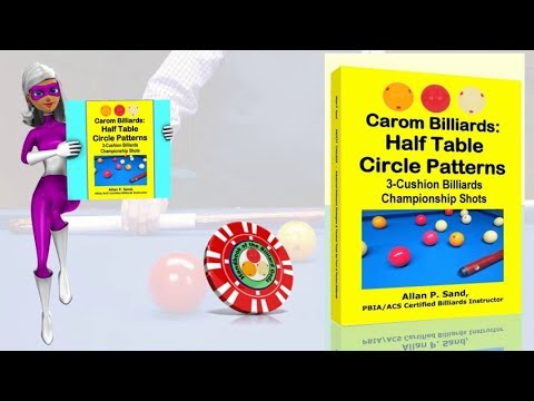Book video for Carom Billiards: Half Table Circle Patterns