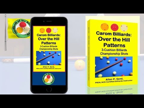 Book video for Carom Billiards: Over the Hill Patterns