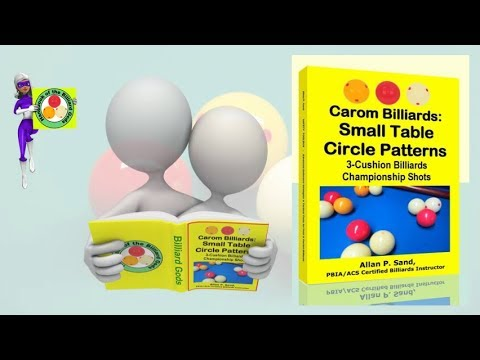 Book video for Carom Billiards: Small Table Circle Patterns