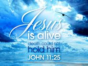 JESUS-YESHUA is ALIVE and RISEN